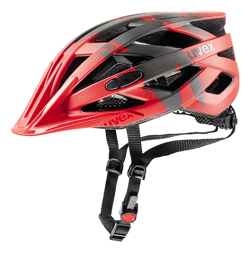 Uvex helma I-VO CC red darksilver mat