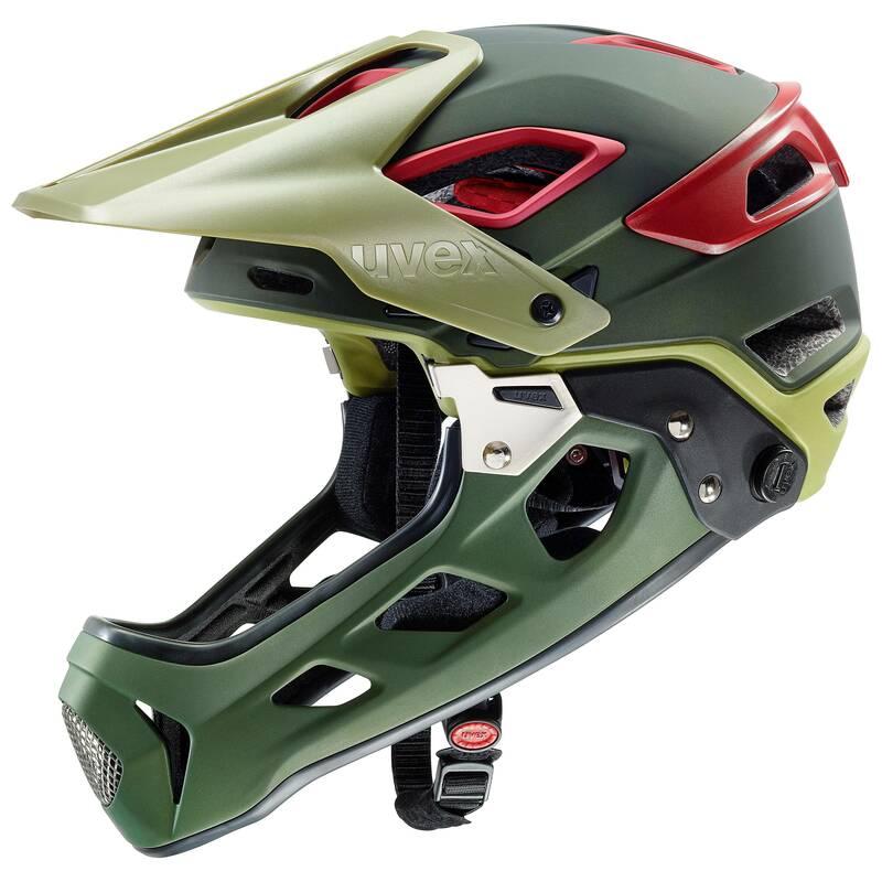 Uvex helma JAKKYL HDE olive red mat