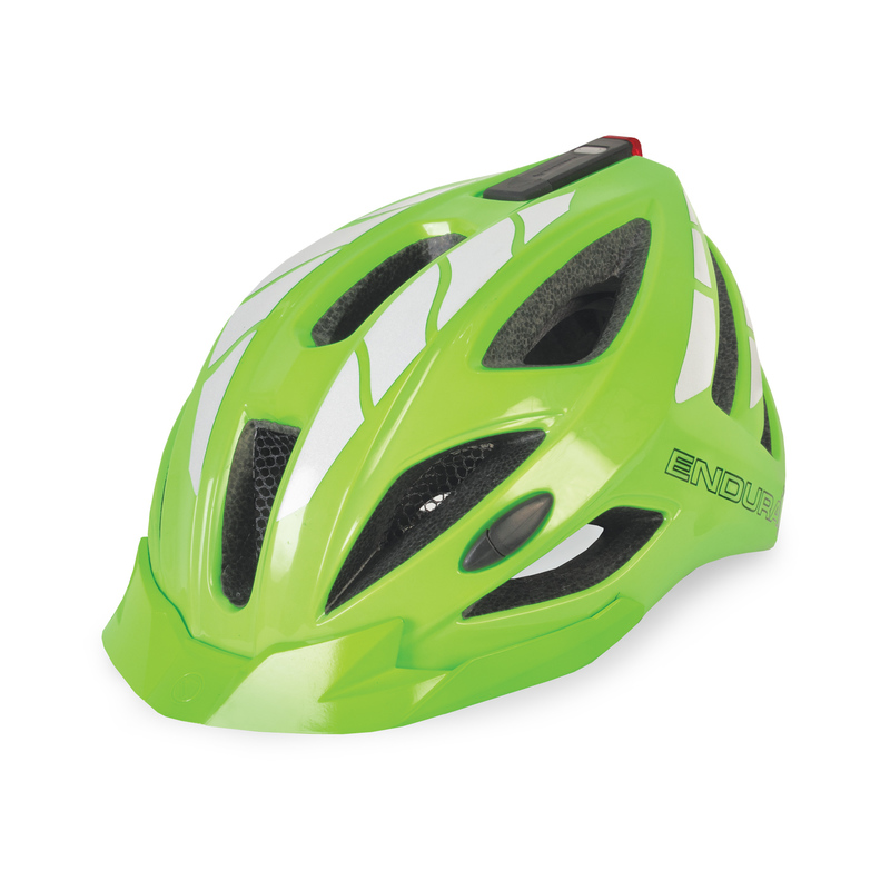 Endura helma LUMINITE svítivě zelená