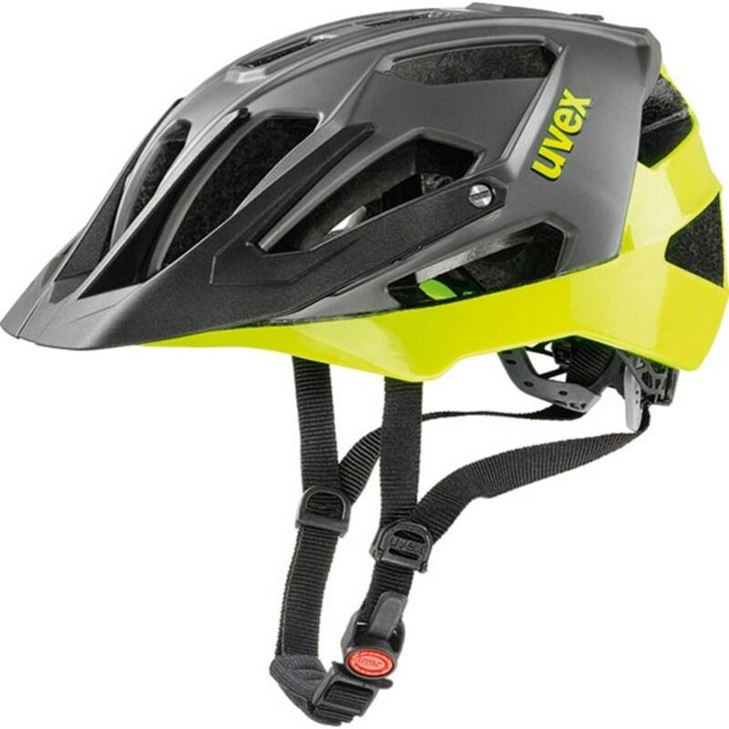 Uvex helma QUATRO black neon-lime
