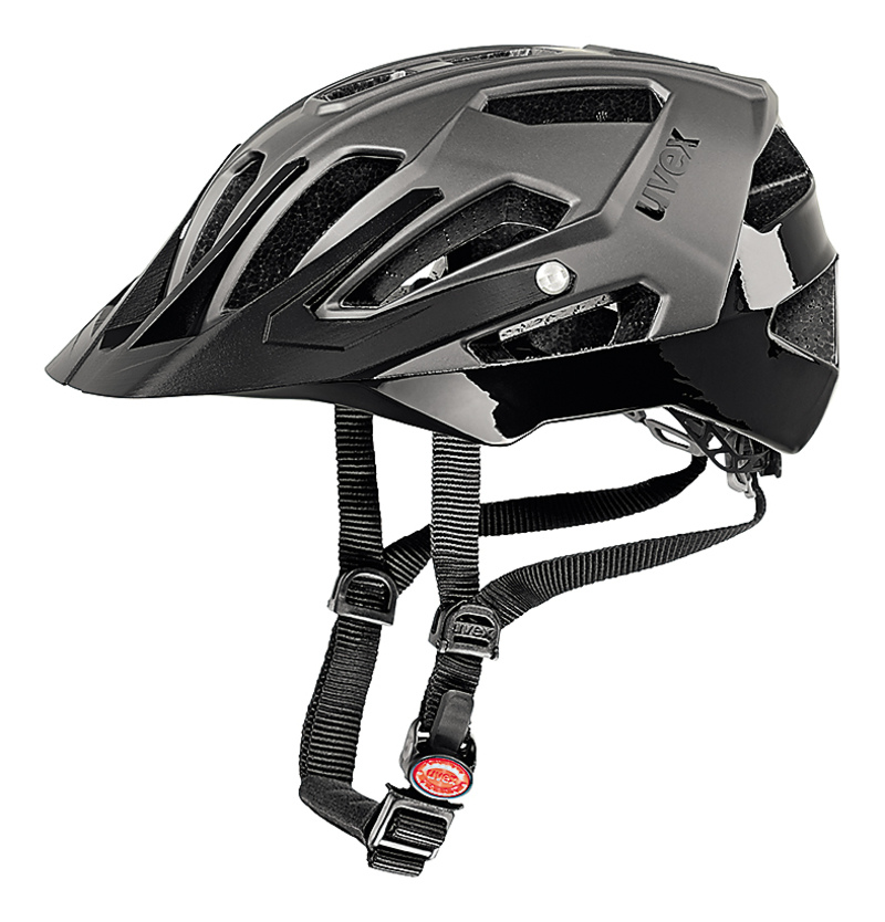 Uvex helma QUATRO darksilver mat black