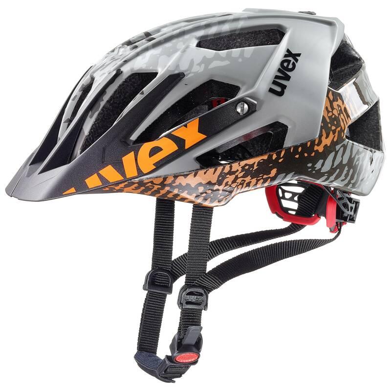 Uvex helma QUATRO dirt grey