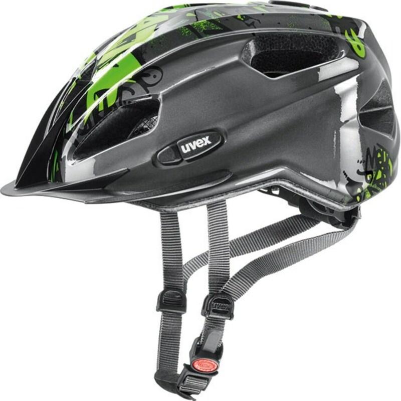 Uvex helma QUATRO JUNIOR anthracite-green