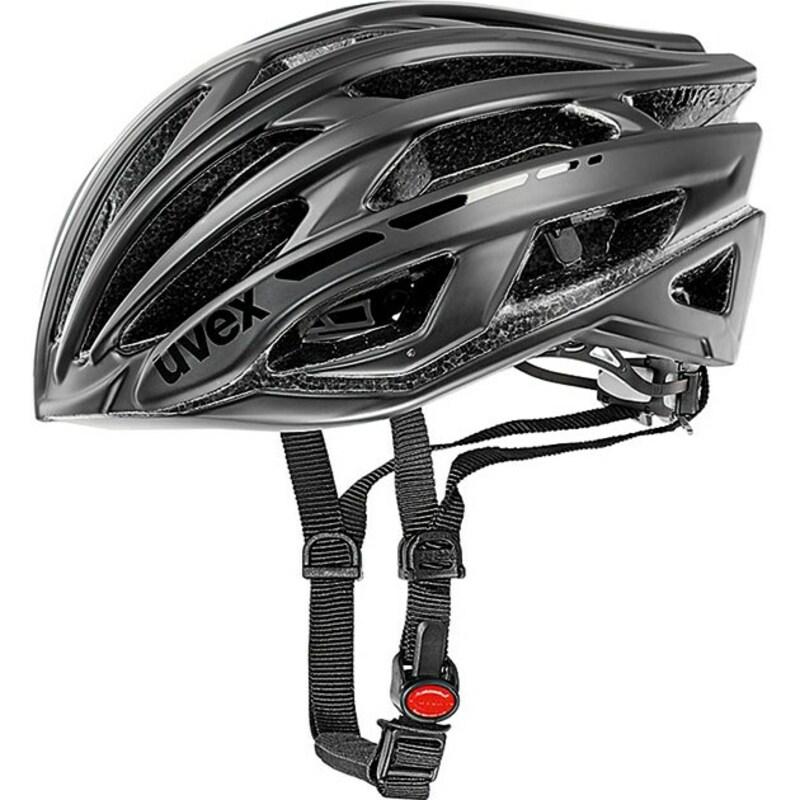 Uvex helma RACE 5 black mat shiny