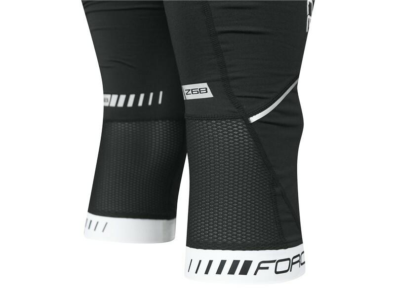 Force kalhoty 3/4 Z68 se šráky a vložkou, černé