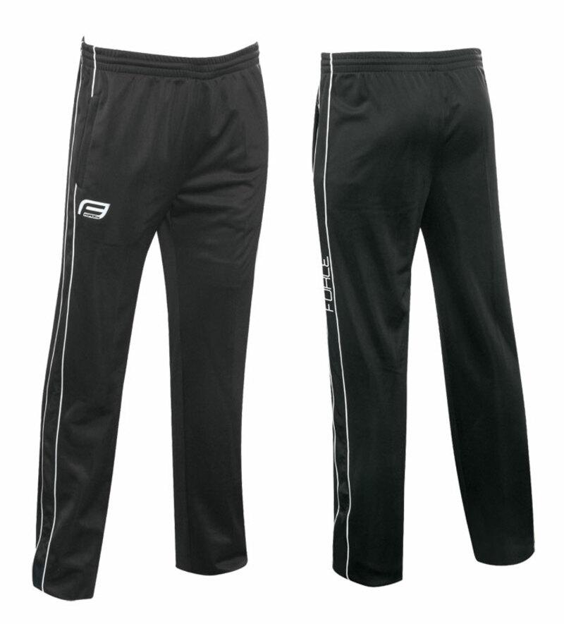 Force kalhoty FORCE černé XXL