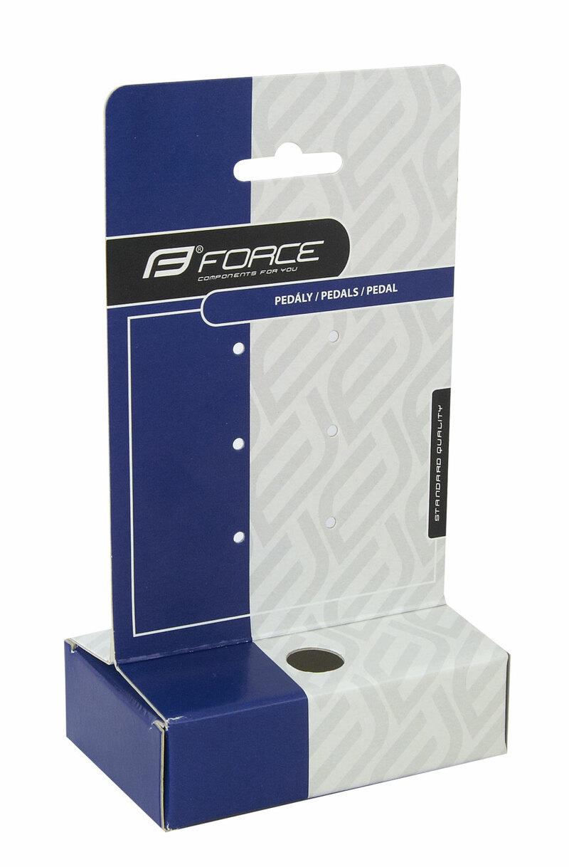 Force karta FORCE balící 10 x 18 cm na pedály