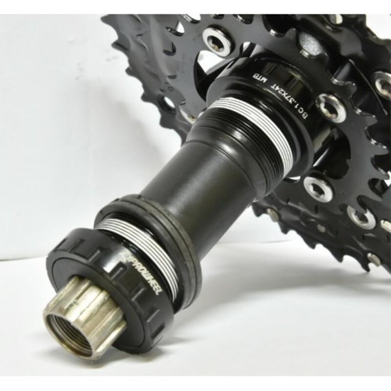 Prowhell kliky ZYPHER 501 TT 38/24 175mm + BB