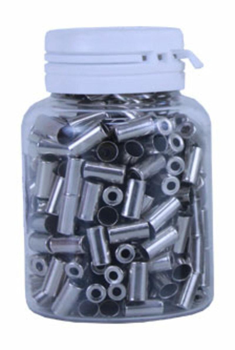 Bezvakolo koncovka bowdenu 5mm ocelová 20ks