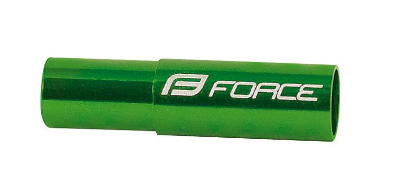 Force koncovky brzdového bowdenu 5mm zelené