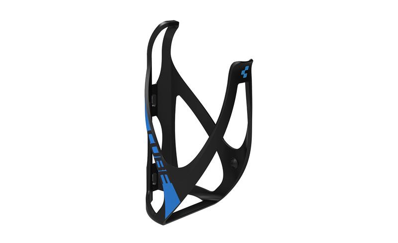 Cube košík na láhev HPP matt black/classic blue