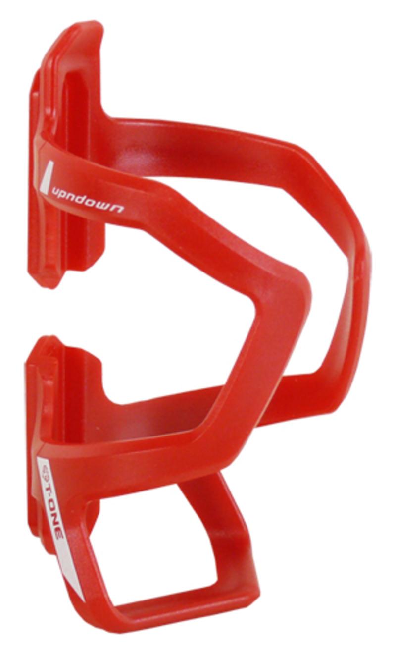 Bezvakolo košík na láhev T-ONE UPNDOWN BC09R stav. červený