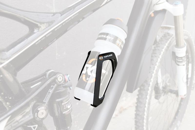 SKS košík na láhev TOPCAGE černý