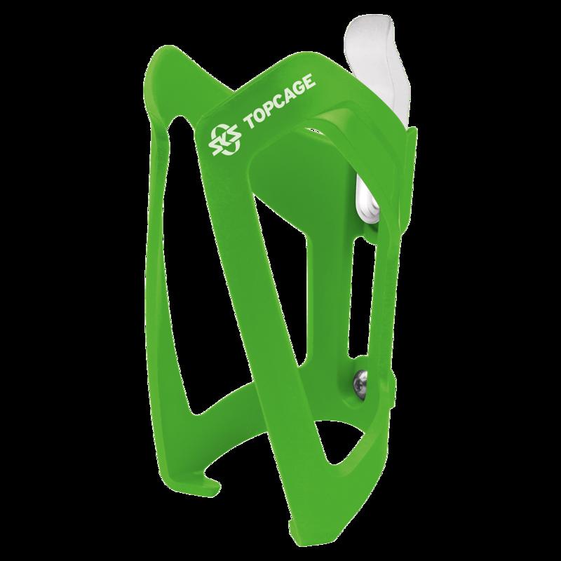 SKS košík na láhev TOPCAGE zelený