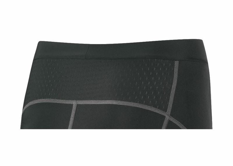 Force kraťasy LADY-1 do pasu s vložkou, černé