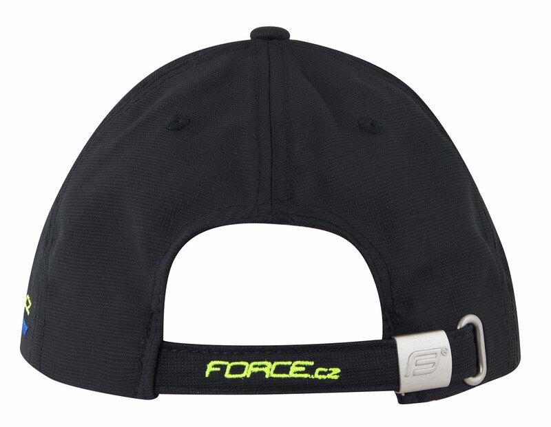 Force kšiltovka FORCE, černo-fluo