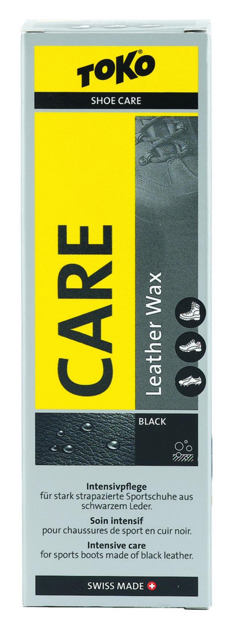 Toko LEATHER WAX BLACK SILICON 75ml Care Line prostředek k ošetření kožené obuvi