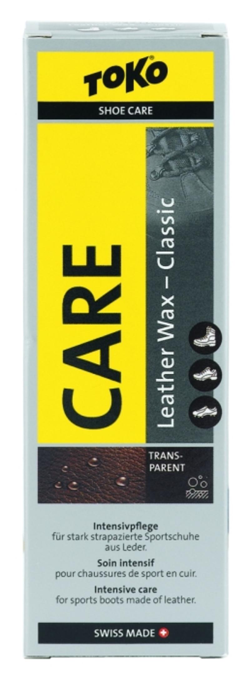 Toko LEATHER WAX TRANSPARENT BEESWAX 75ml Care Line prostředek k ošetření kožené obuvi