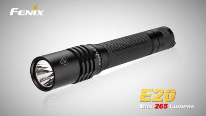 Fenix LED svítilna Fenix E20 XP-E2 (265 lumenů)