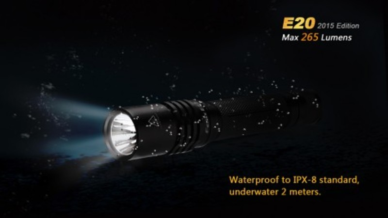 Fenix LED svítilna E20 XP-E2 (265 lumenů)