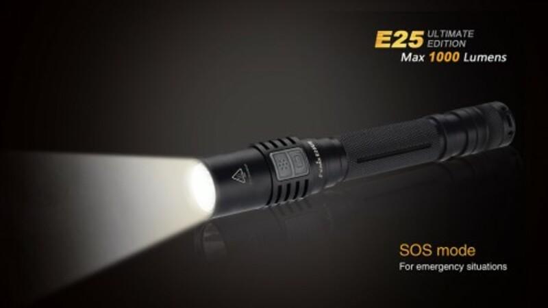 Fenix LED svítilna E25 Ultimate Edition