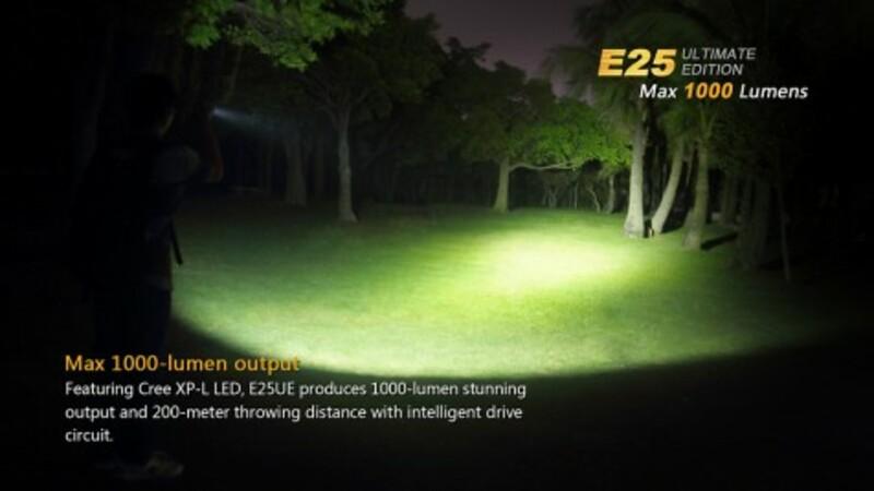 Fenix LED svítilna Fenix E25 Ultimate Edition