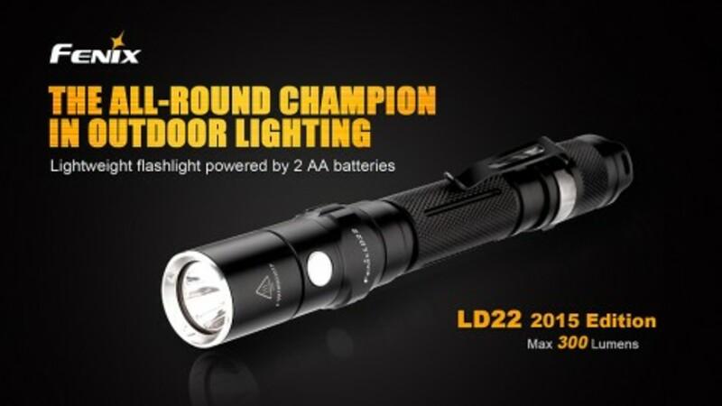Fenix LED svítilna Fenix LD22 XP-G2 (300 lumenů)