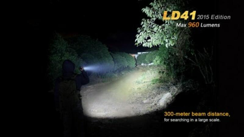Fenix LED Svítilna Fenix LD41 XM-L2 (960 lumenů)