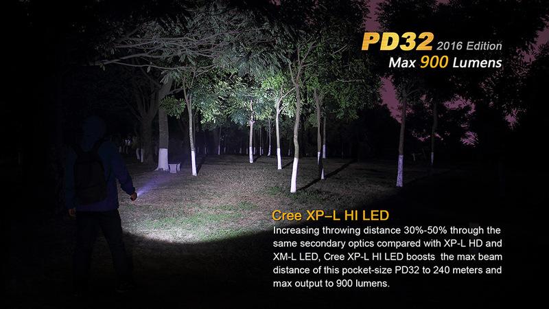 Fenix LED svítilna Fenix PD32 XP-L