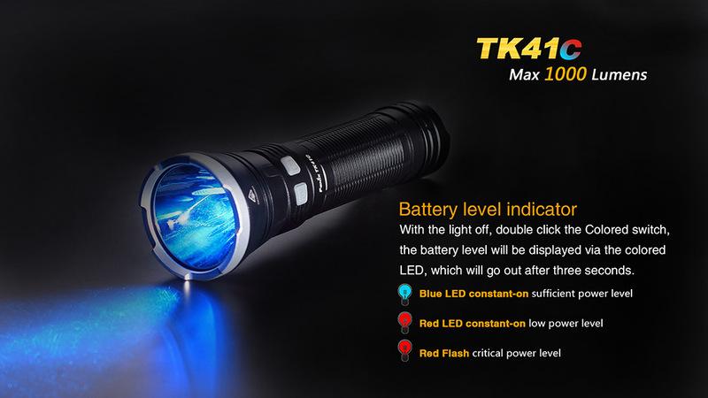Fenix LED svítilna Fenix TK41C