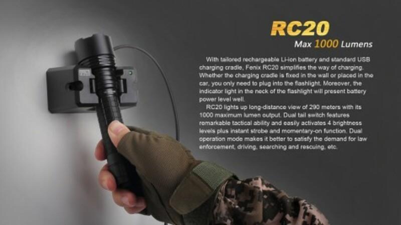 Fenix Nabíjecí svítilna Fenix RC20