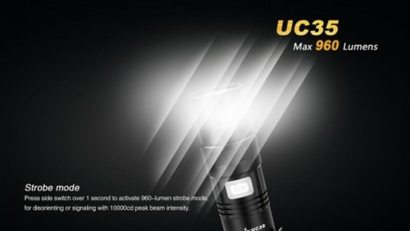 Fenix Nabíjecí svítilna Fenix UC35