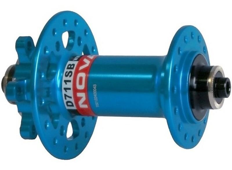 Novatec náboj D711SB, přední 32 děrový, modrý