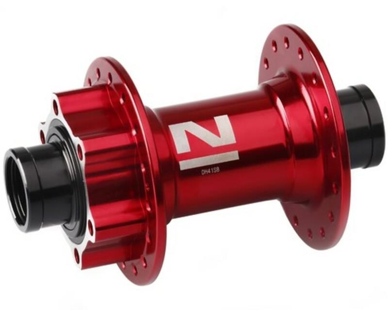 Novatec náboj DH41SB, přední 32 děrový, červený