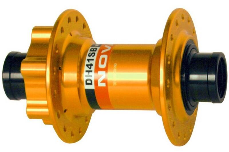 Novatec náboj DH41SB, přední 32 děrový, zlatý (dark gold)