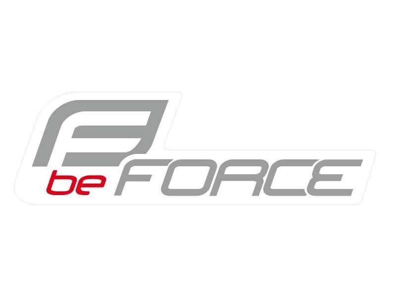 Force nálepka FORCE na auto 125x39mm stříbrná