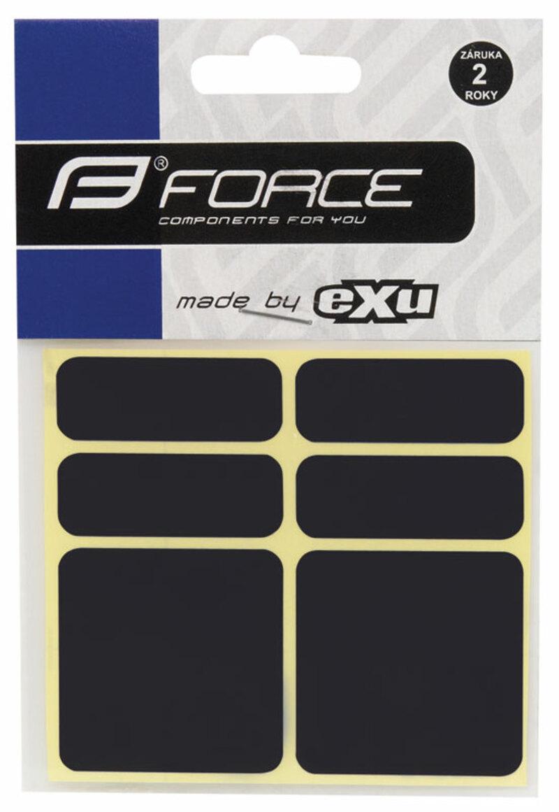 Force nálepky reflexní 6ks 3M černé