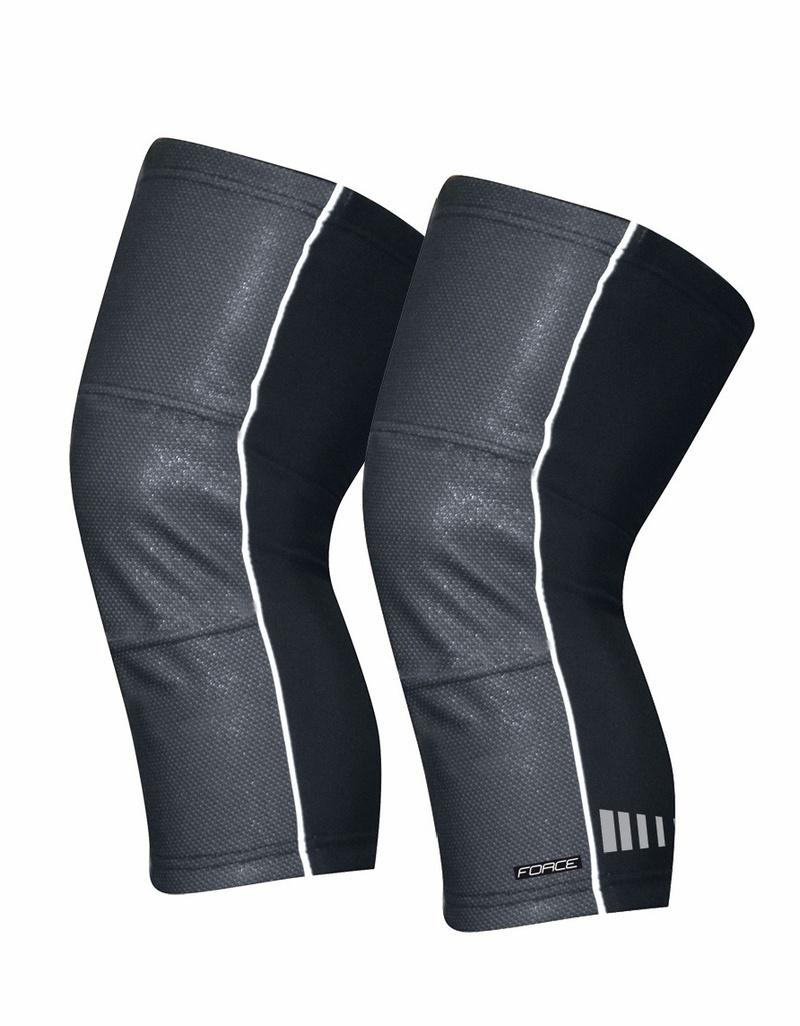 Force návleky na kolena WIND-X, černé