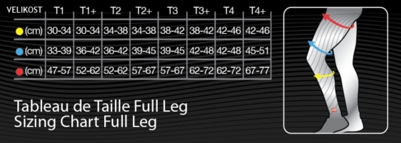 Compressport návleky na nohy COMPRESSPORT FULL LEG