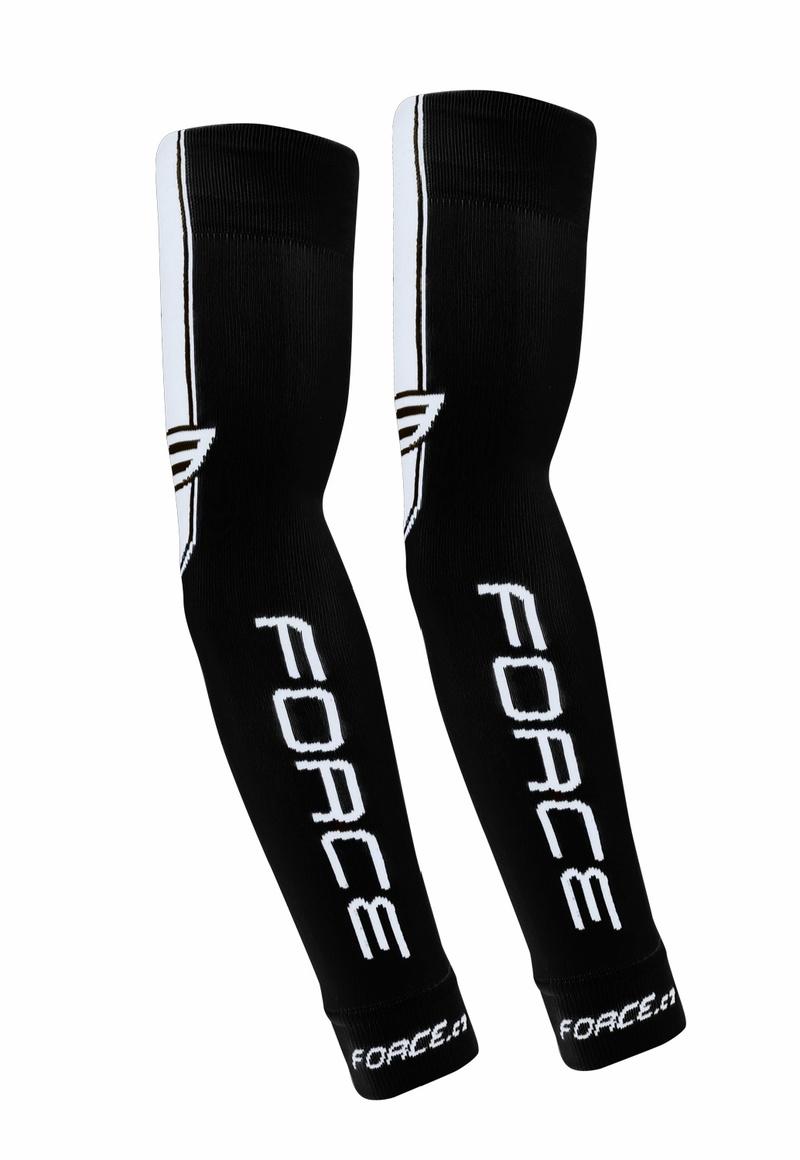 Force návleky na ruce pletené, černé