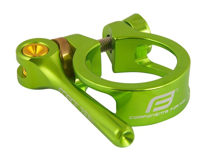Force objímka sedlovky s RÚ 34,9 zelená