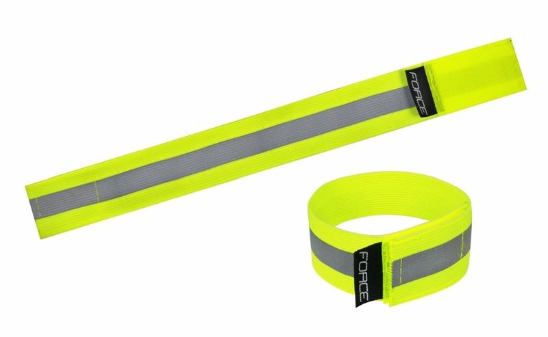 Force pásek reflexní LUN suchý zip fluo