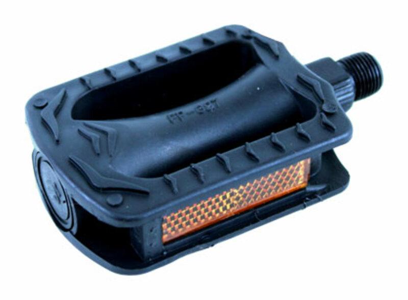 Bezvakolo pedály FEIMIN FP-627 plastové dětské černé malý závit