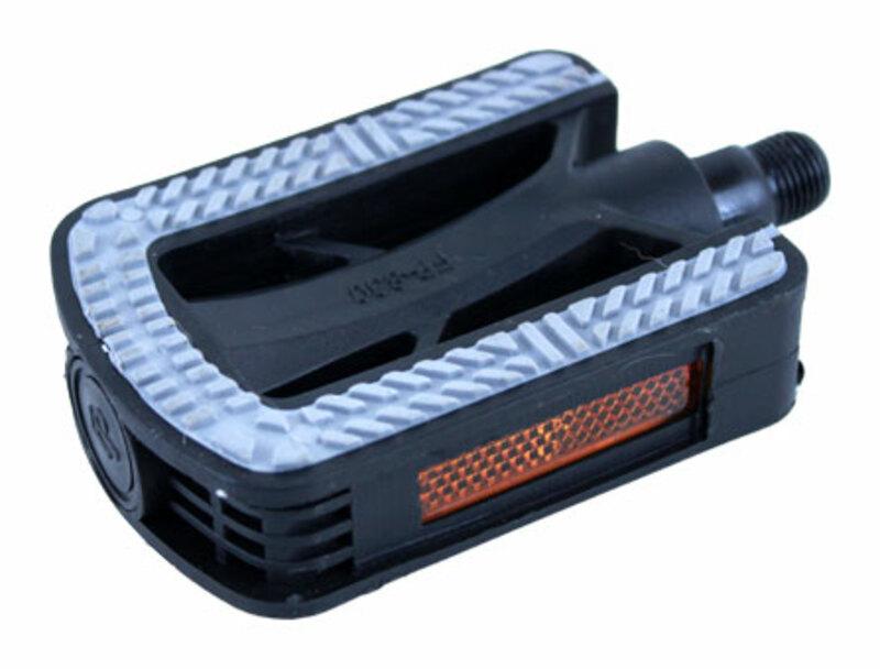 Bezvakolo pedály FEIMIN FP-830 plastové černé protiskluz