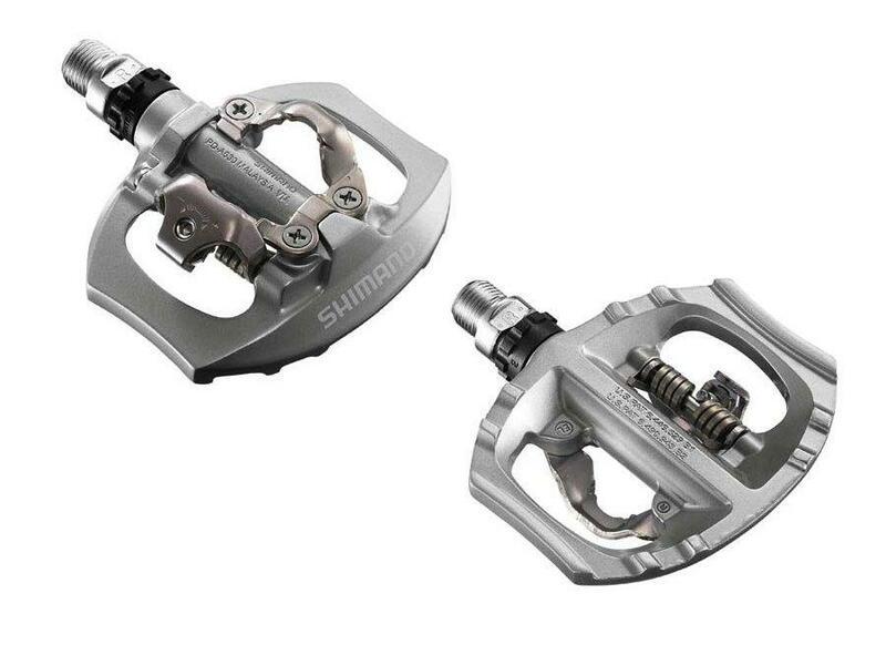 Shimano Pedály PD-A530 stříbrné