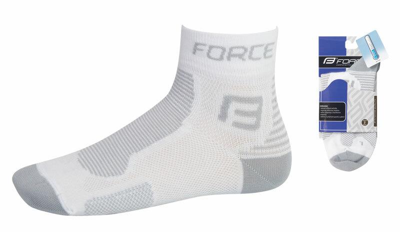 Force ponožky FORCE1 bílo-šedé