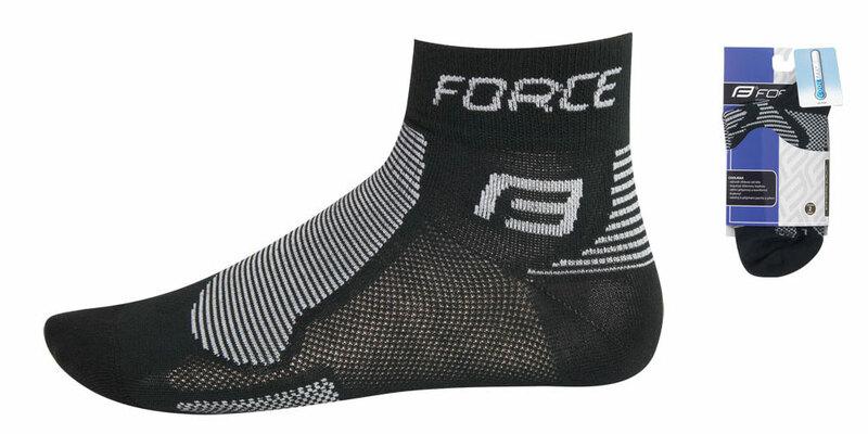 Force ponožky FORCE1  černo-šedé