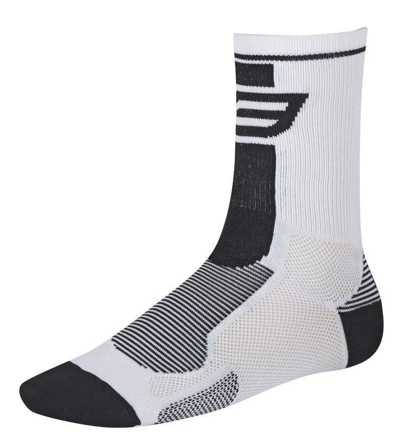 Force ponožky LONG, bílo-černé