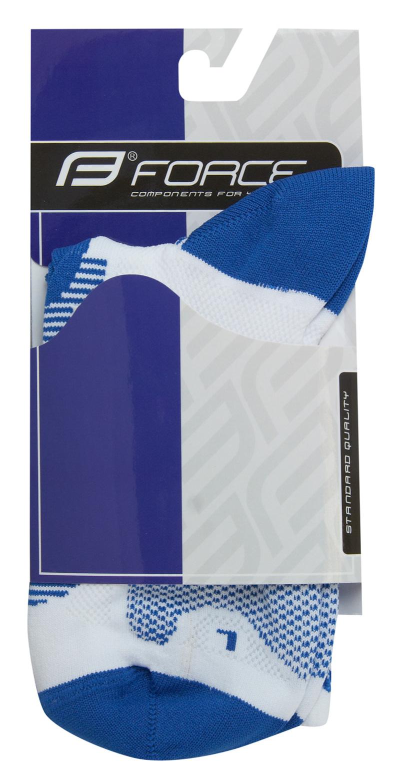 Force ponožky LONG, bílo-modré