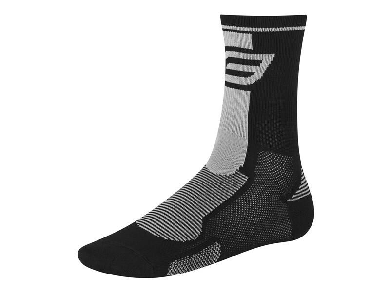 Force ponožky LONG, černo-šedé